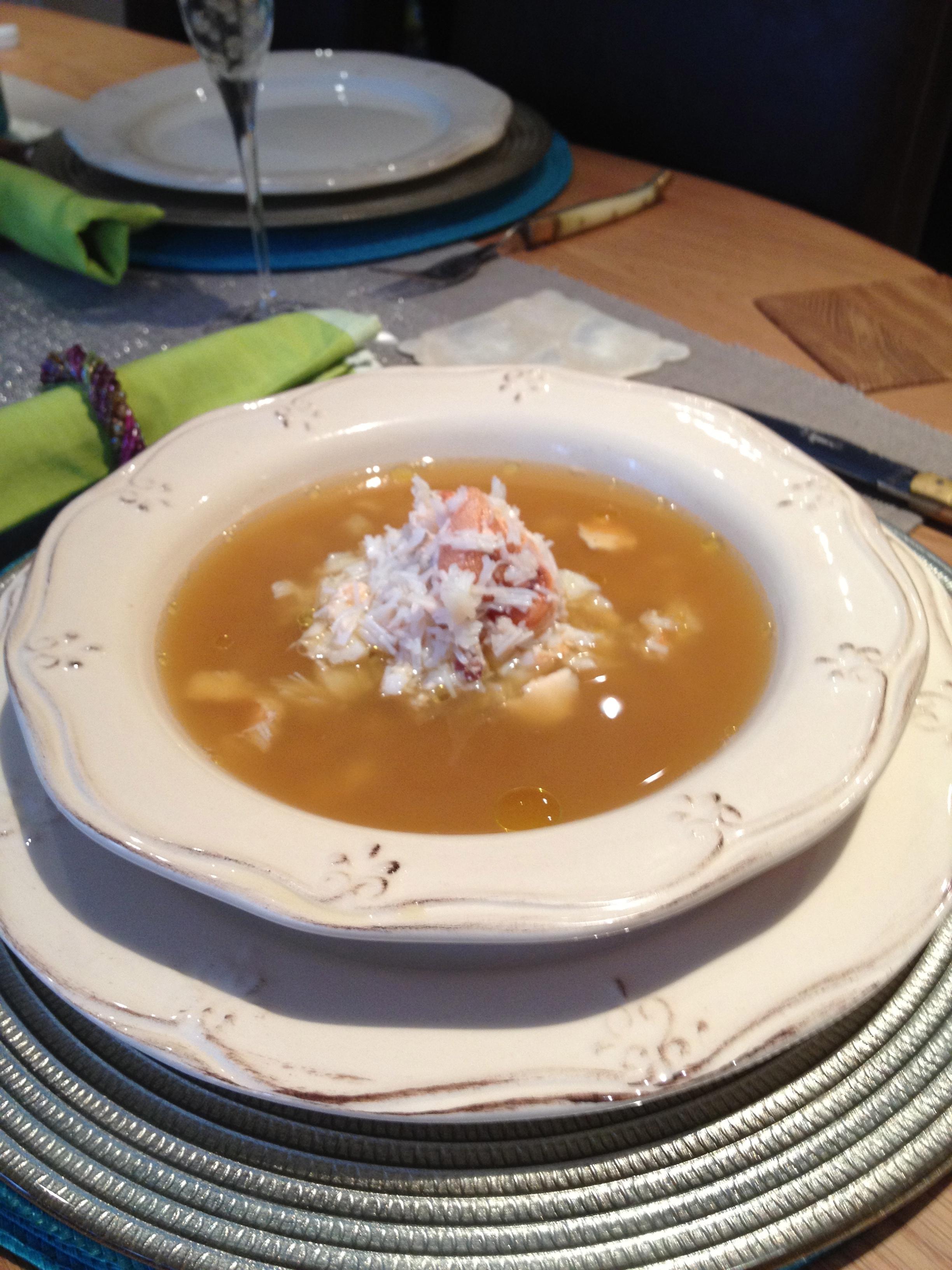 Crab Bisque Recipe — Dishmaps
