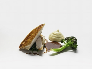 Roast Chicken with Beurre Noisette Mash Potatoes